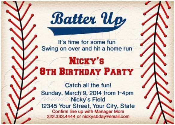Baseball Party Invitations Baseball Invitation Template – orderecigsjuicefo