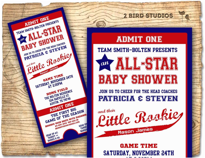 Baseball Themed Baby Shower Invitations Baseball Baby Shower Invitation Baseball Baby Shower