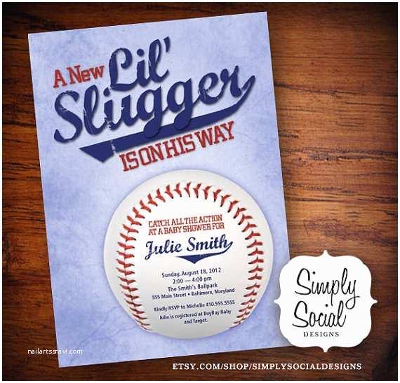 Baseball Themed Baby Shower S Little Slugger Baseball Theme Baby Shower