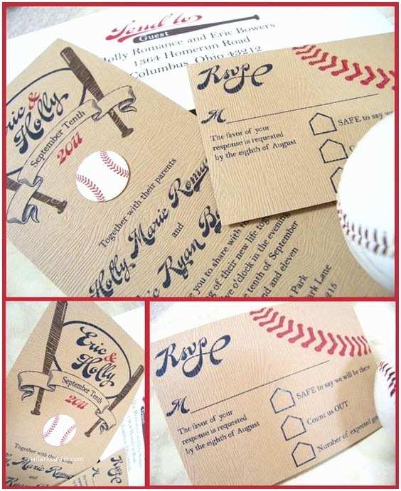 Baseball Wedding Invitations 17 Best Images About Ej S Baseball