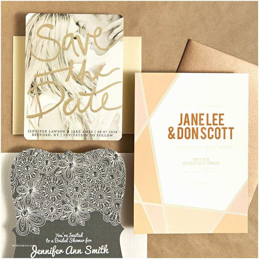 Basic Wedding Invitations Easily Embellished Wedding Invitations with Basic Invite