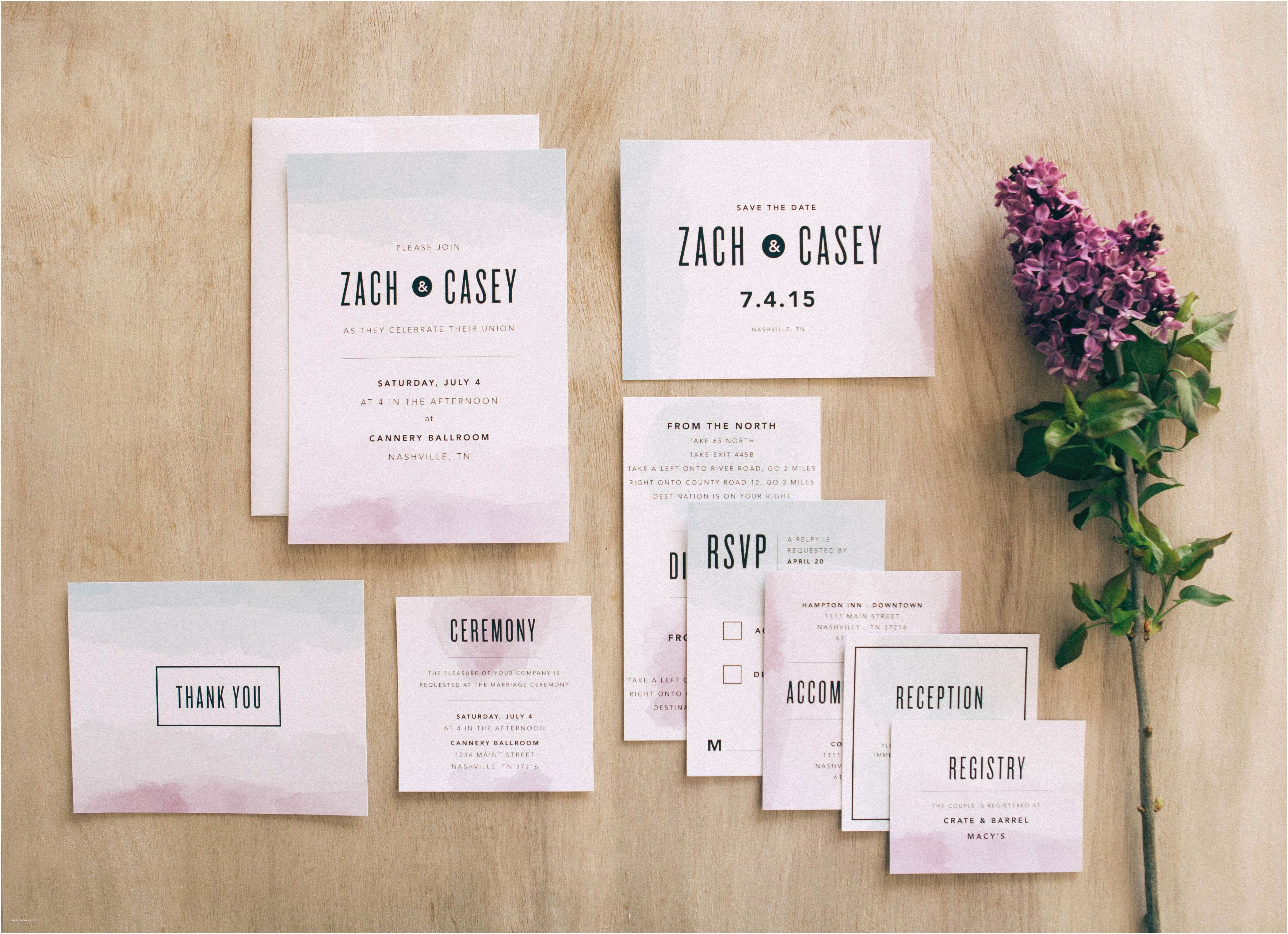 Basic Wedding Invitations New Collection From Basic Invite