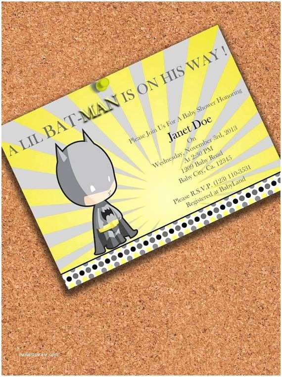 Batman Baby Shower Invitations Batman Baby Shower Invitations Related Keywords Batman