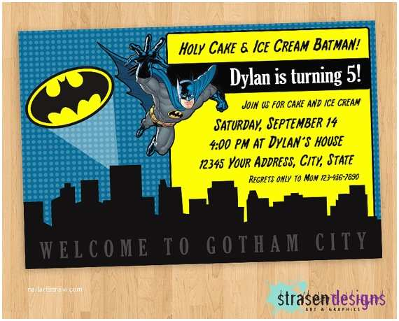Batman Birthday Invitations 40th Ideas Invitation Templates Free
