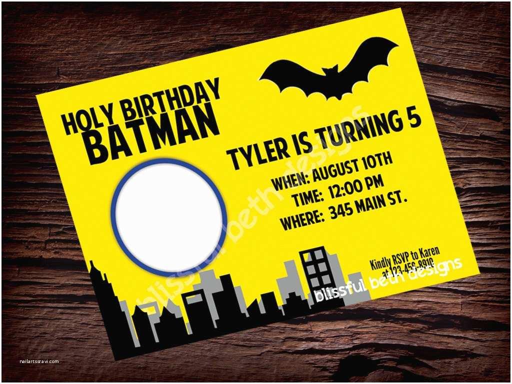 Batman Birthday Invitations Batman Birthday Invitations Ideas
