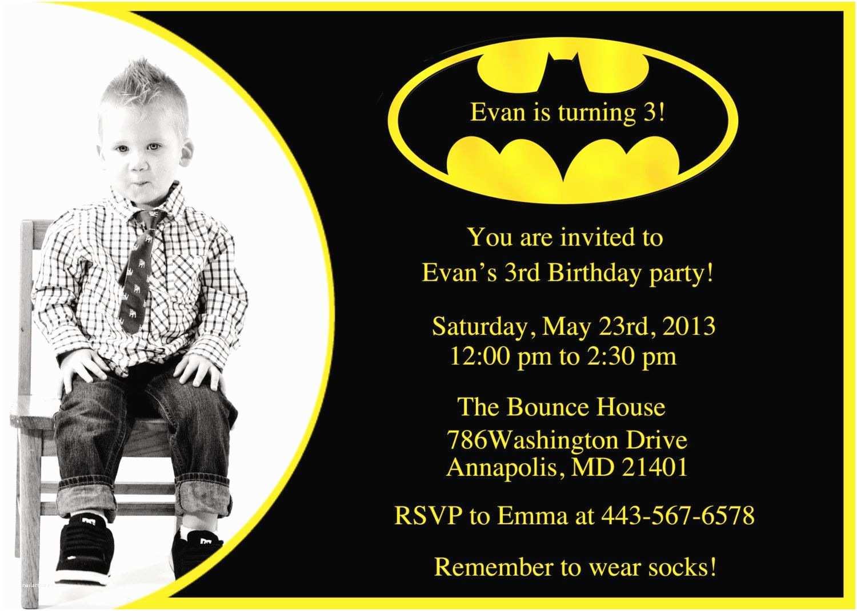 Batman Party Invitations Batman Birthday Party Invitation Printable by