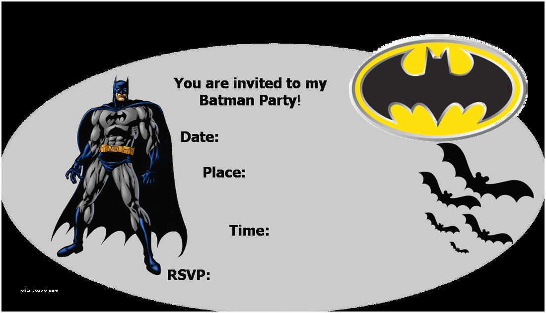 Batman Party Invitations Template Wauxqrsj