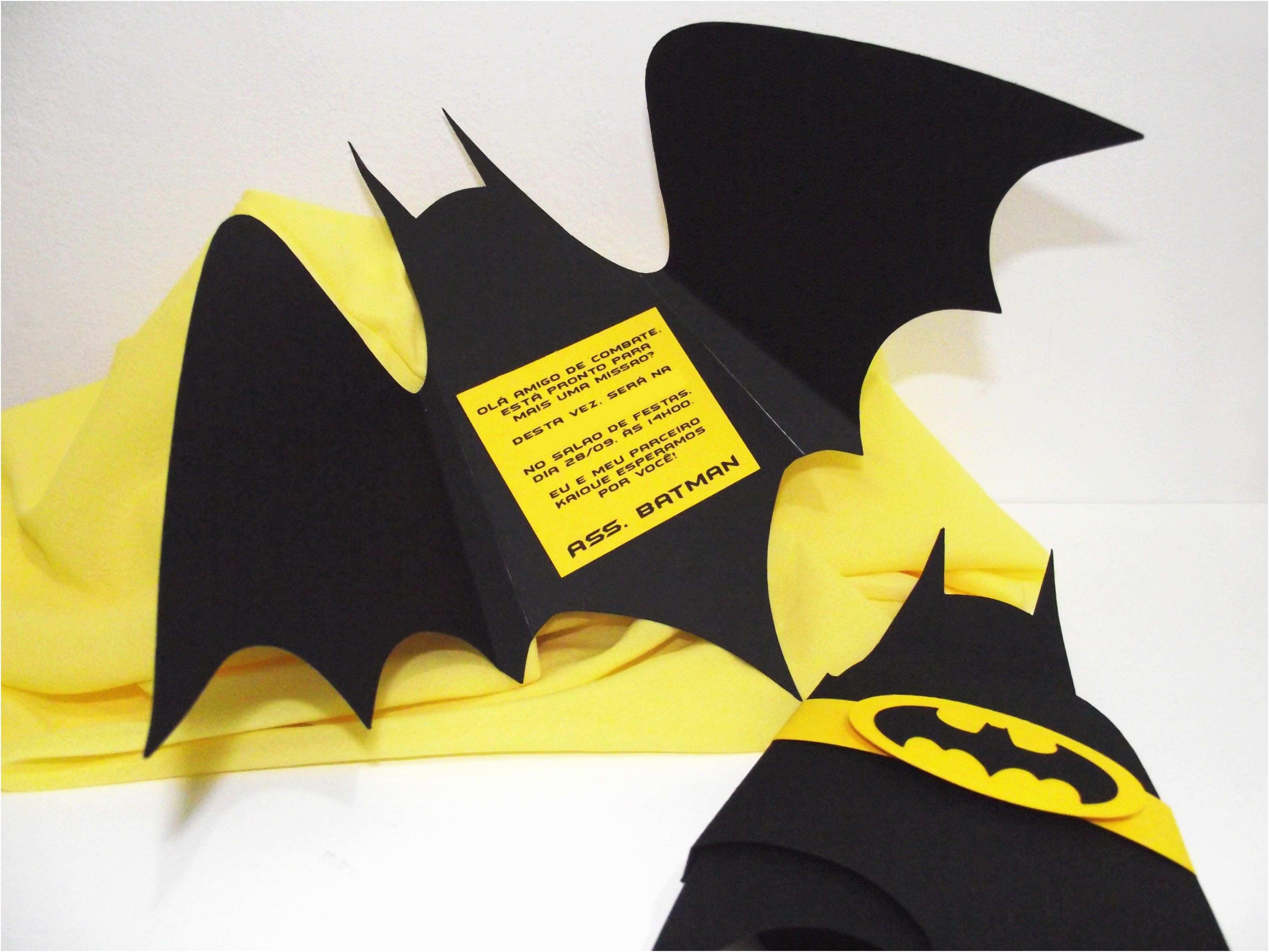 Batman Party Invitations Convite Batman Convites Para Festas Infantis