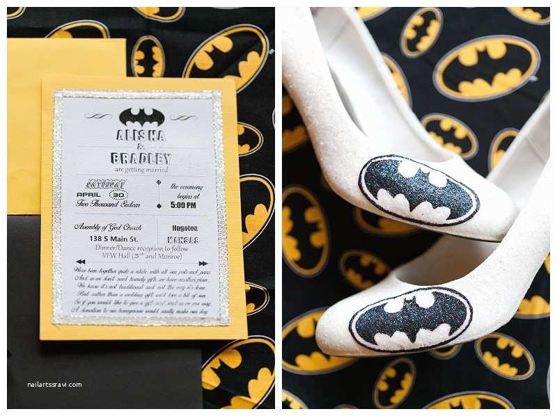 Batman Wedding Invitations Batman themed Wedding Invitations