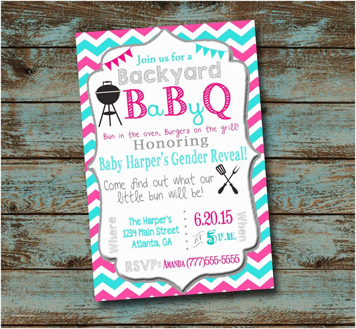 Bbq Baby Shower Invitations Baby Shower Bbq Invitations – Gangcraft