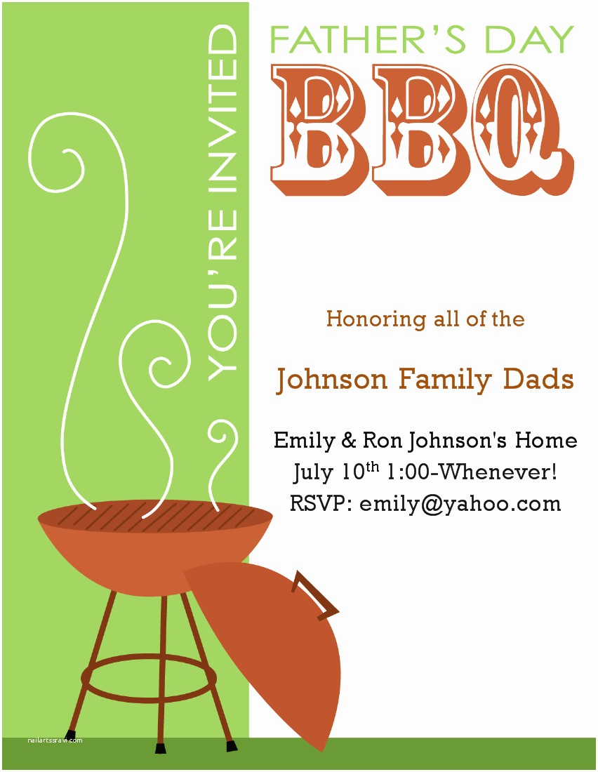Bbq Party Invitation 7 Best Of Free Printable Bbq Invitation Flyer Bbq