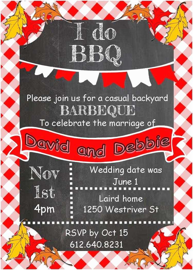 Bbq Party Invitation Bbq Birthday Party Invitations