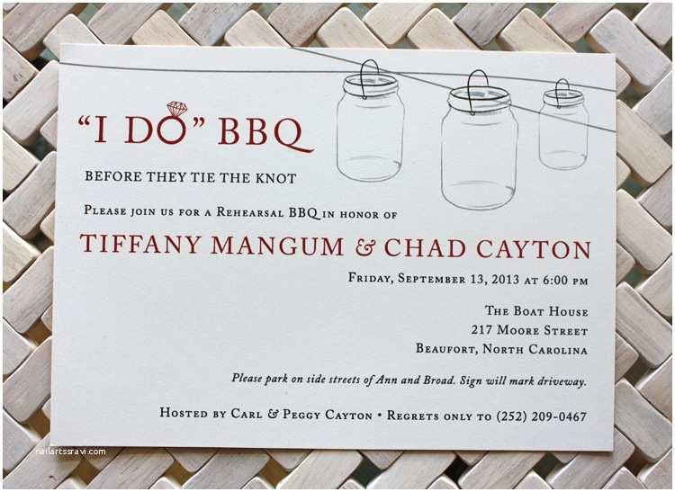 red black hanging mason jars i do bbq wedding rehearsal invitations