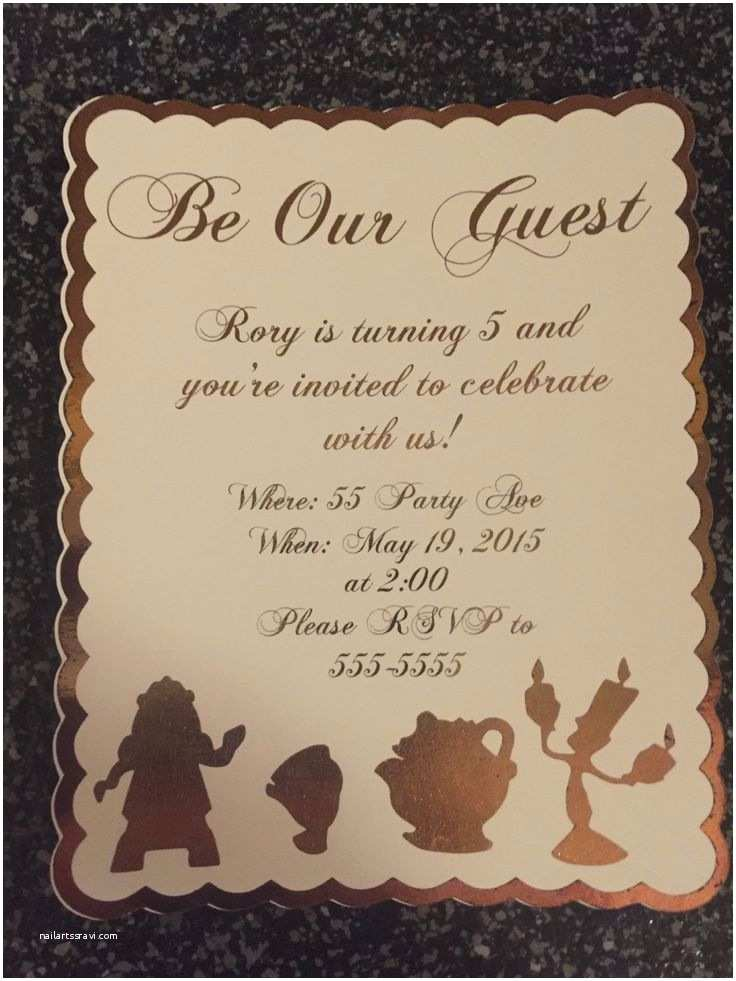 Be Our Guest Wedding Invitations 38 Best Images About Invitations On Pinterest
