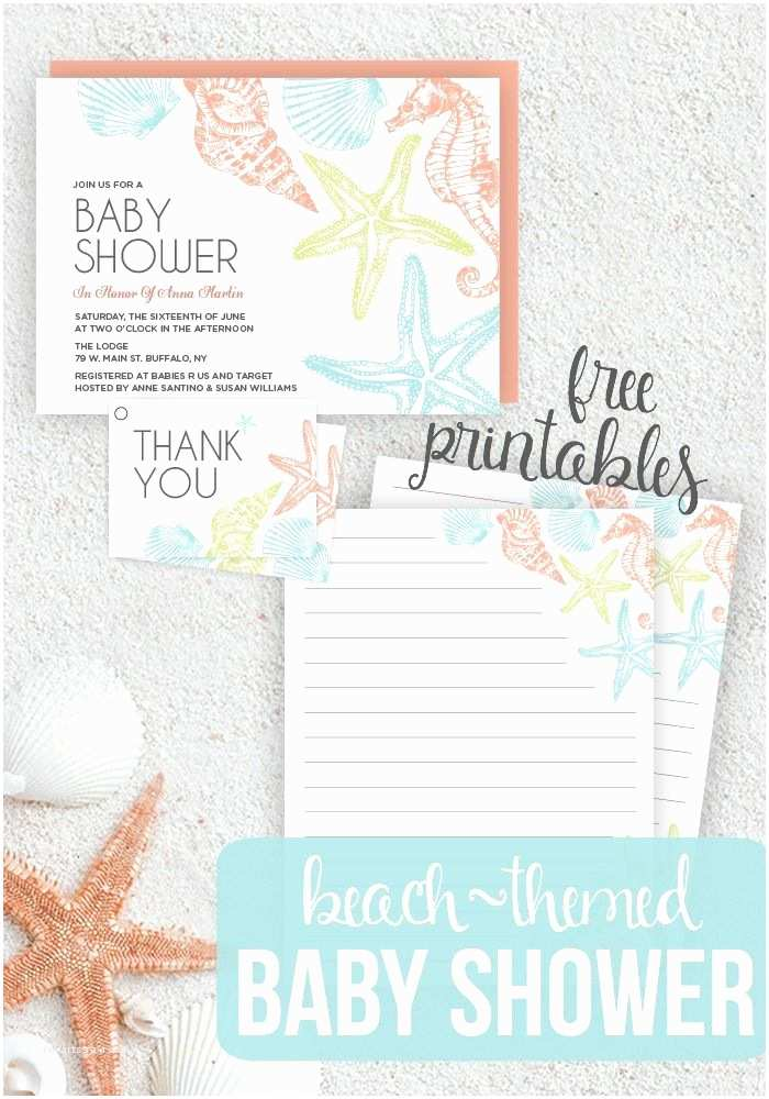 Beach Baby Shower Invitations 25 Best Ideas About Beach Baby Showers On Pinterest