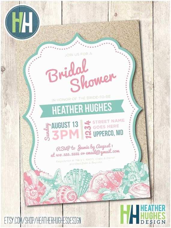 Beach Bridal Shower Invitations 17 Best Ideas About Beach Bridal Showers On Pinterest