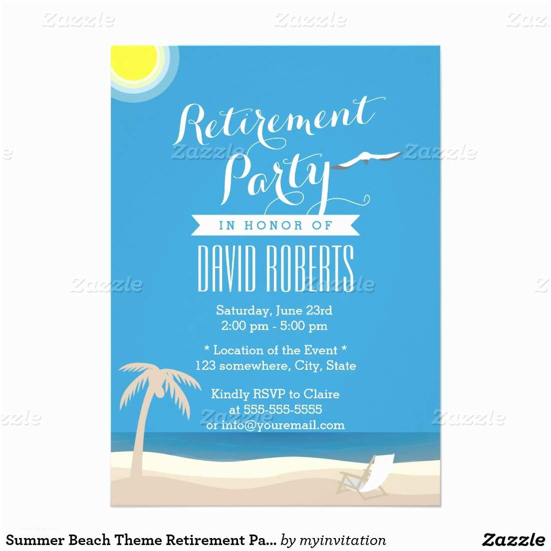 beach party invitations printable