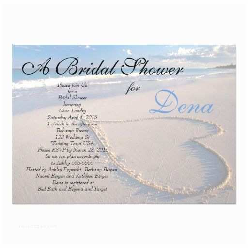Beach theme Bridal Shower Invitations 280 Best Beach Bridal Shower Invitations Images On