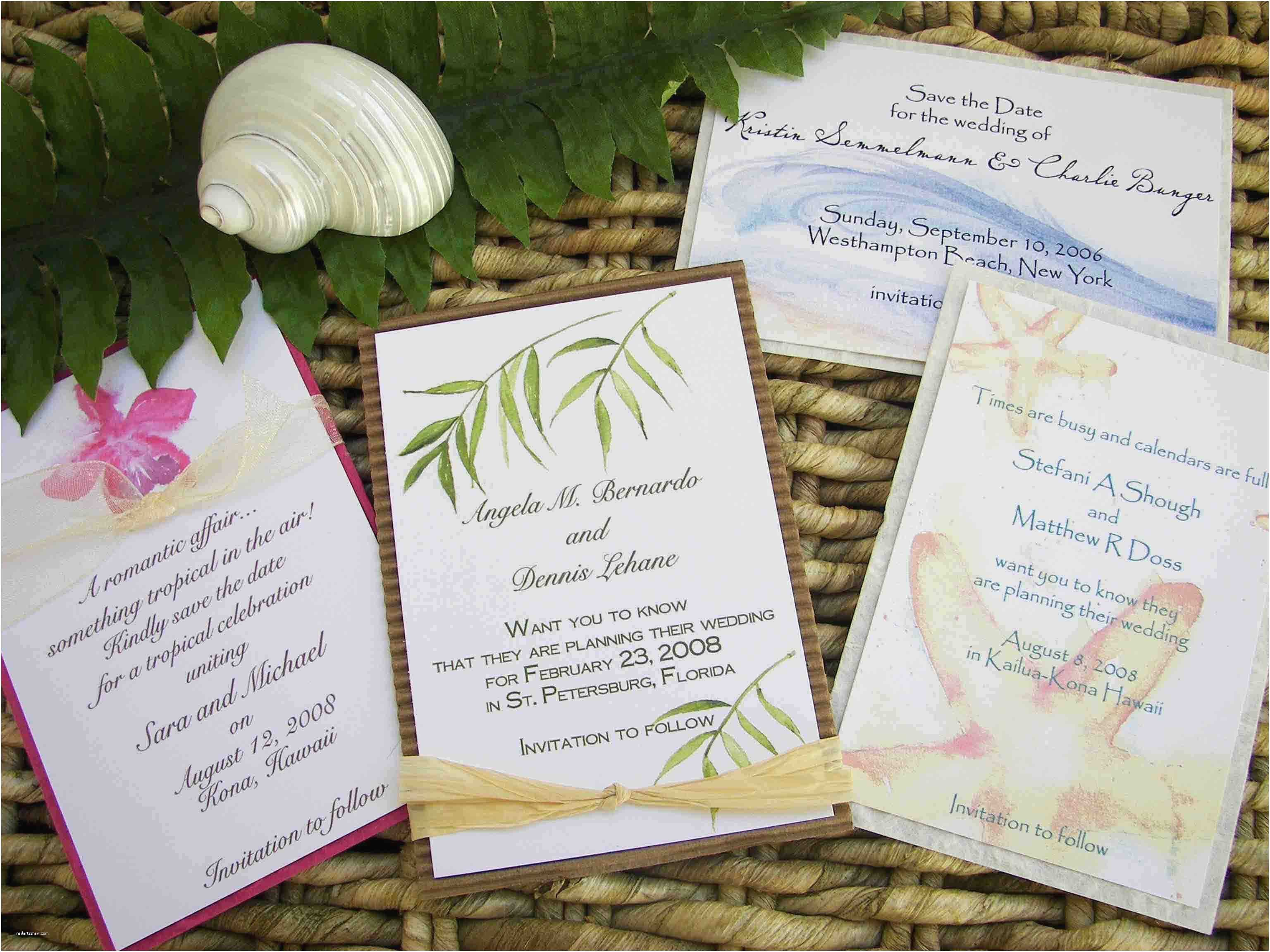 Beach themed Wedding Invitations Tropical Beach Wedding Invitations Beach Wedding