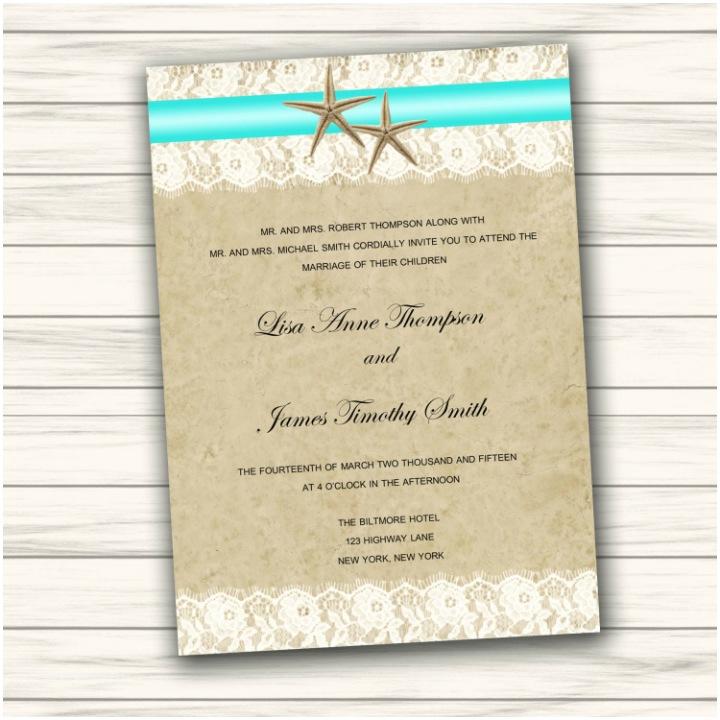 Beach Wedding Invitation Templates 35 Adorable Beach Wedding Templates Editable Psd Ai