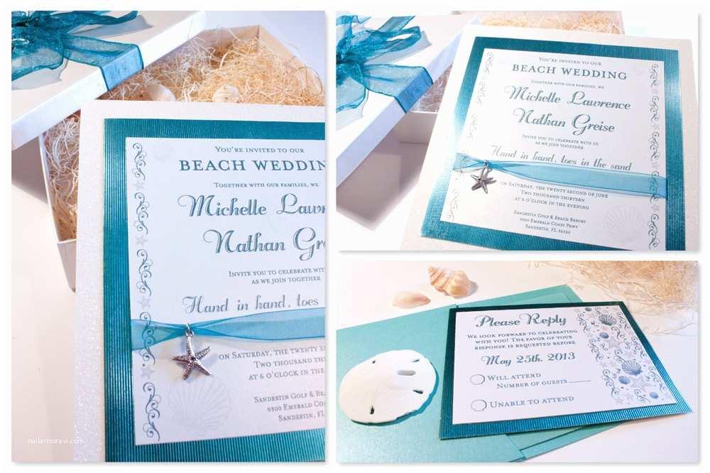 Beach Wedding Invitation Templates Memoires D Amour Weddings Beach Wedding Invitations 5