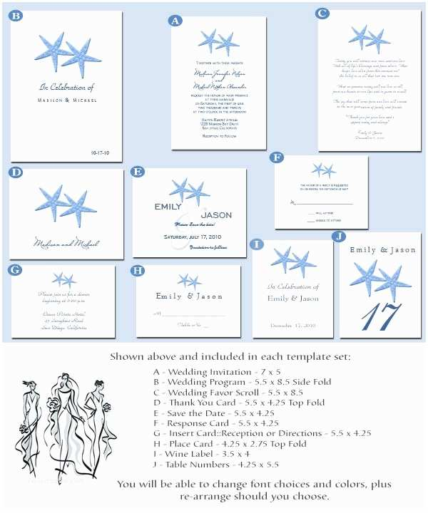 Beach Wedding Invitation Templates Warm Beach Wedding Invitation Templates