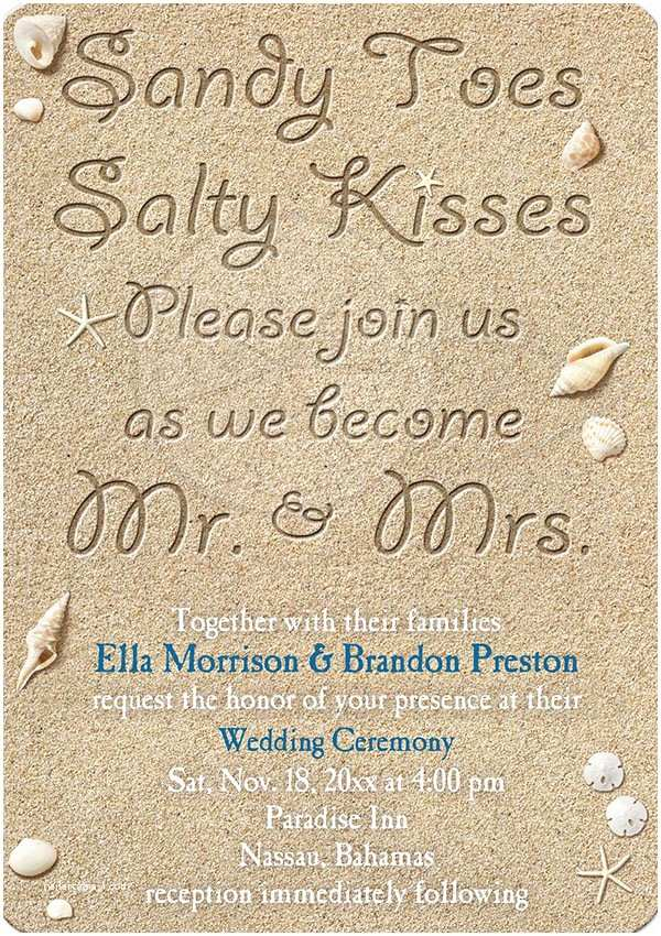 Beach Wedding Invitation Wording 20 Popular Wedding Invitation Wording & Diy Templates Ideas