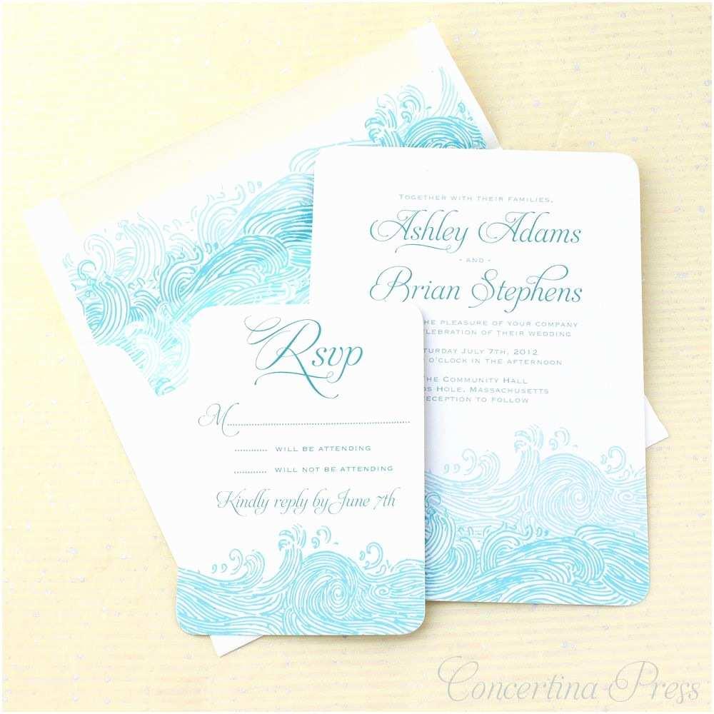 Beach Wedding Invitation Wording Free