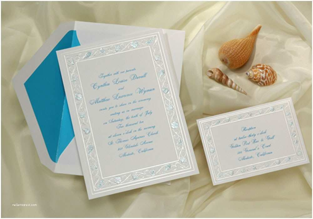 Beach Wedding Invitations Beach theme Wedding Invitations Ideas