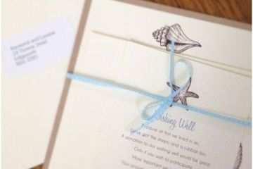 Beach Wedding Invitations Kits Beach Theme Wedding Invitations Ideas