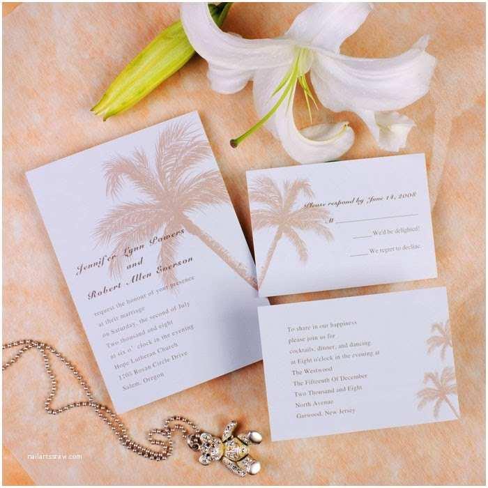 Beach Wedding Invitations Kits Beach Wedding Invitations Ideas