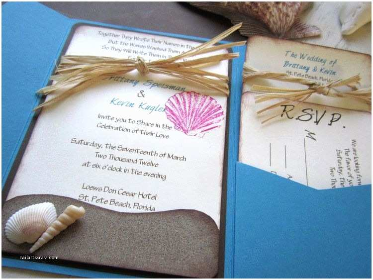 Beach Wedding Invitations Kits Birthday Invitations 1st Birthday Baptism Invitations
