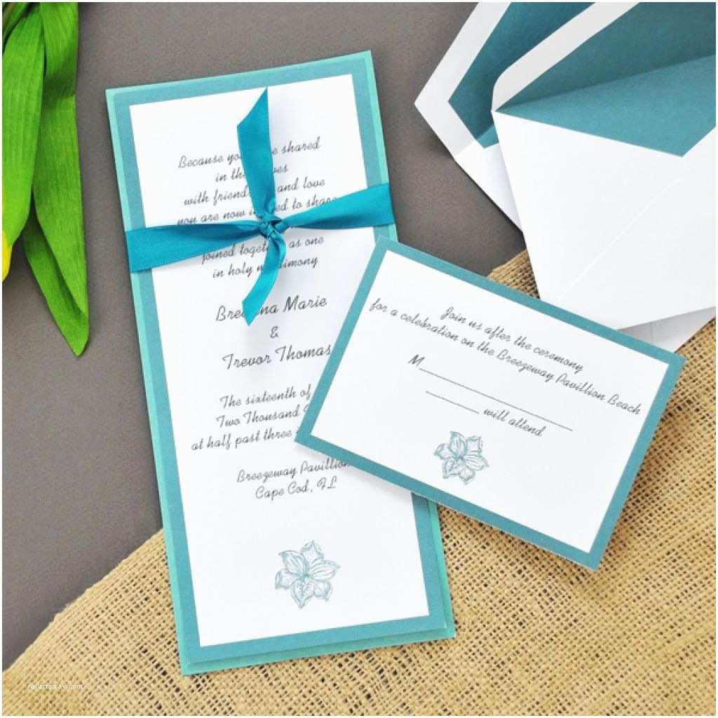 Beach Wedding Invitations Kits Wedding Invitation Kits Amazon Various Invitation Card