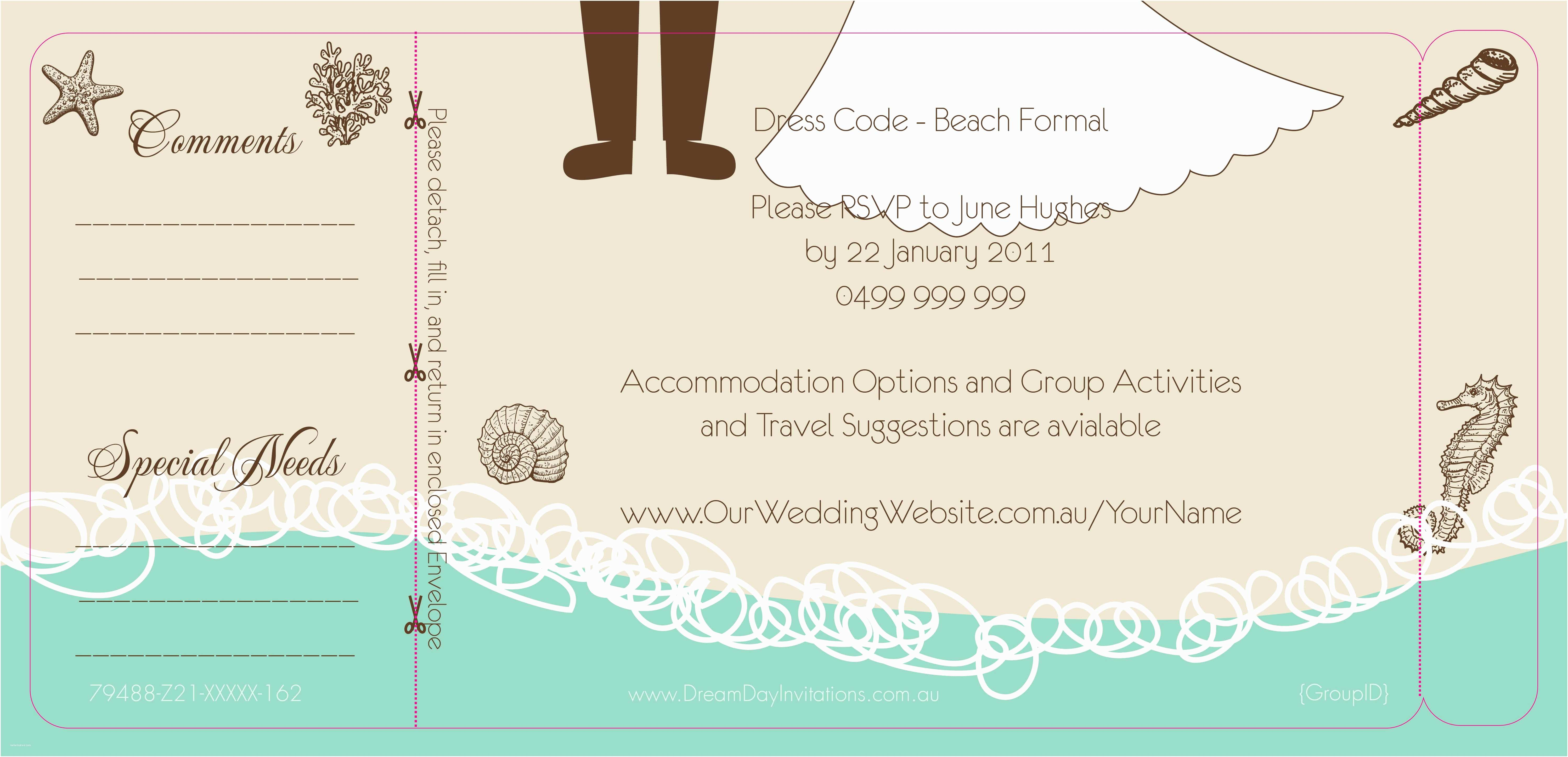 Beach Wedding Invitations Online Anniversary Invitation Beach themed Wedding Invitations