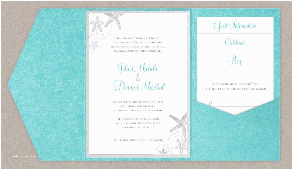 Beach Wedding Invitations Online Diy Beach Wedding Invitations Do It Your Self