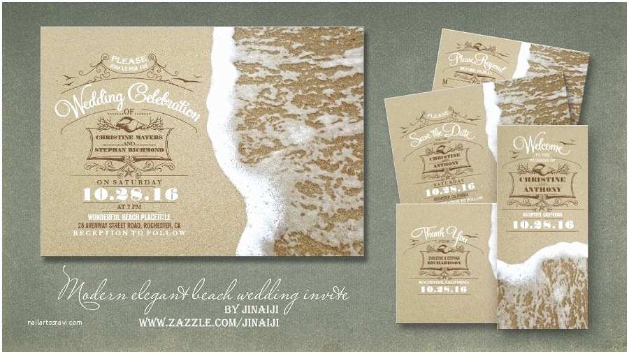 Beach Wedding Invitations Online Read More – Modern and Creative Beach Wedding Invitations