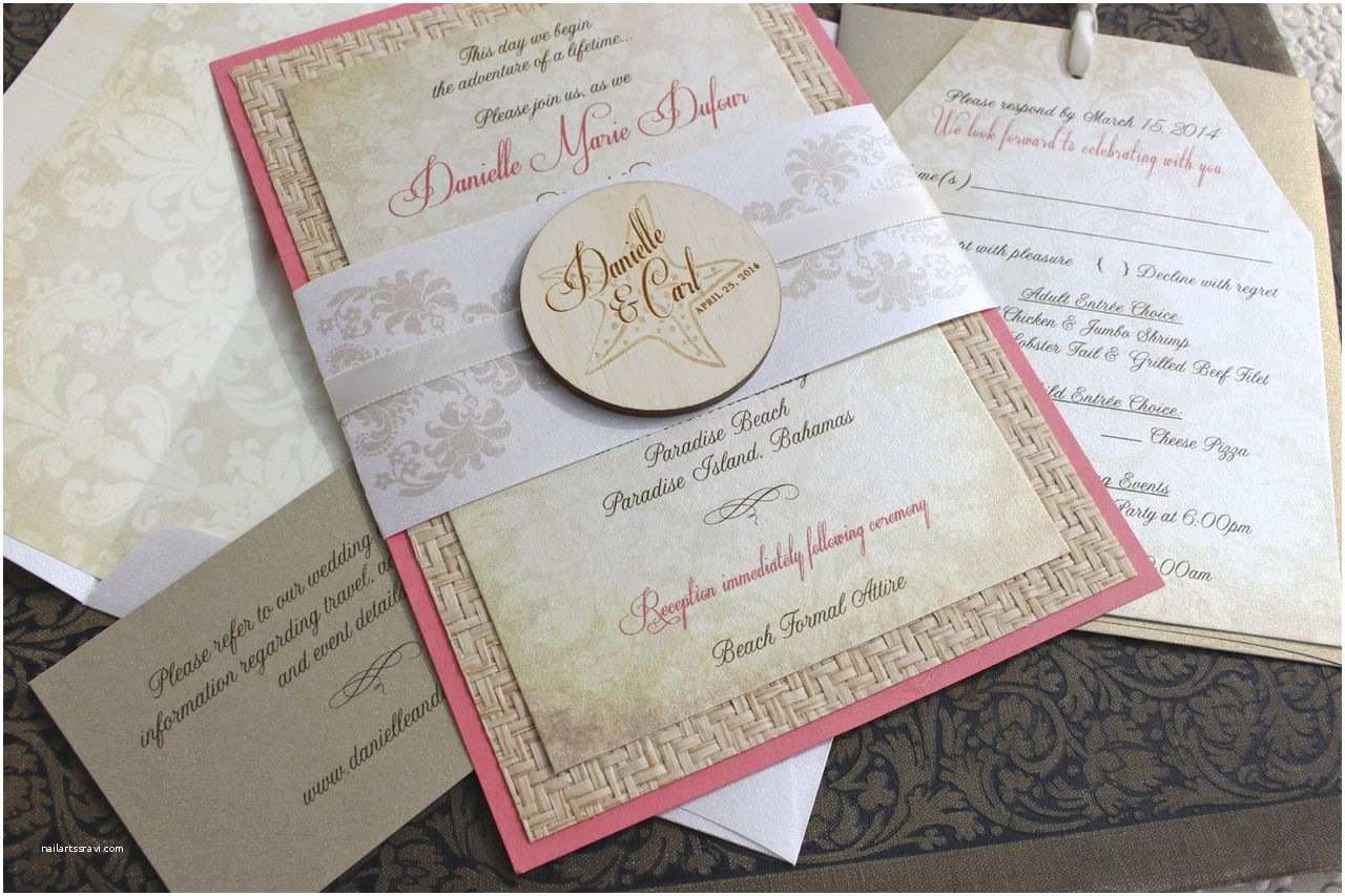 Beach Wedding Invitations Online Tropical Beach Wedding Invitations Beach Wedding