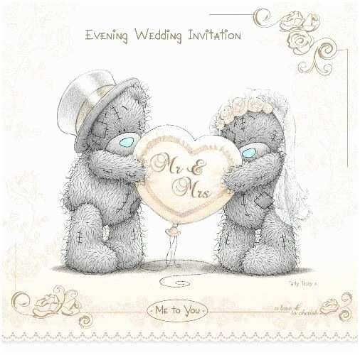 Bear Wedding Invitations 30 Best Me to You School & Graduation Images On Pinterest