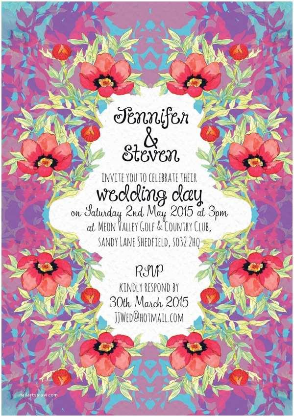 Bear Wedding Invitations Spotlight On Stationery Unique Illustrated Wedding