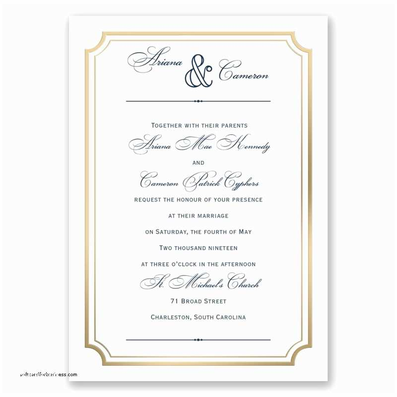 Beautiful Wedding Invitation Wording Wedding Invitation Elegant Wedding Invitation Response