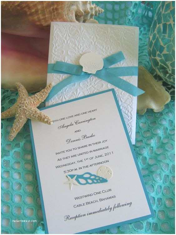 Beautiful Wedding Invitations Pinterest Seashells Beach Weddings and Beautiful Wedding