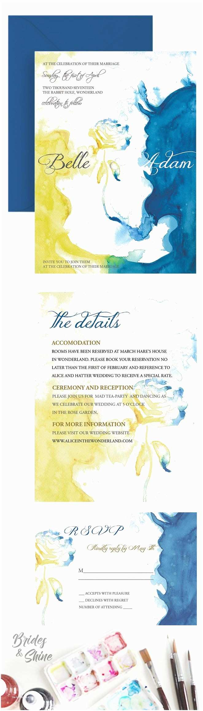 Beauty and the Beast Inspired Wedding Invitations 25 Best Ideas About Disney Wedding Invitations On Pinterest