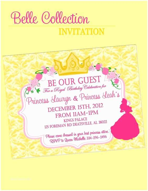 Beauty And The Beast Inspired Wedding Invitations Invitation Beauty And The Beast Inspired Party Parties
