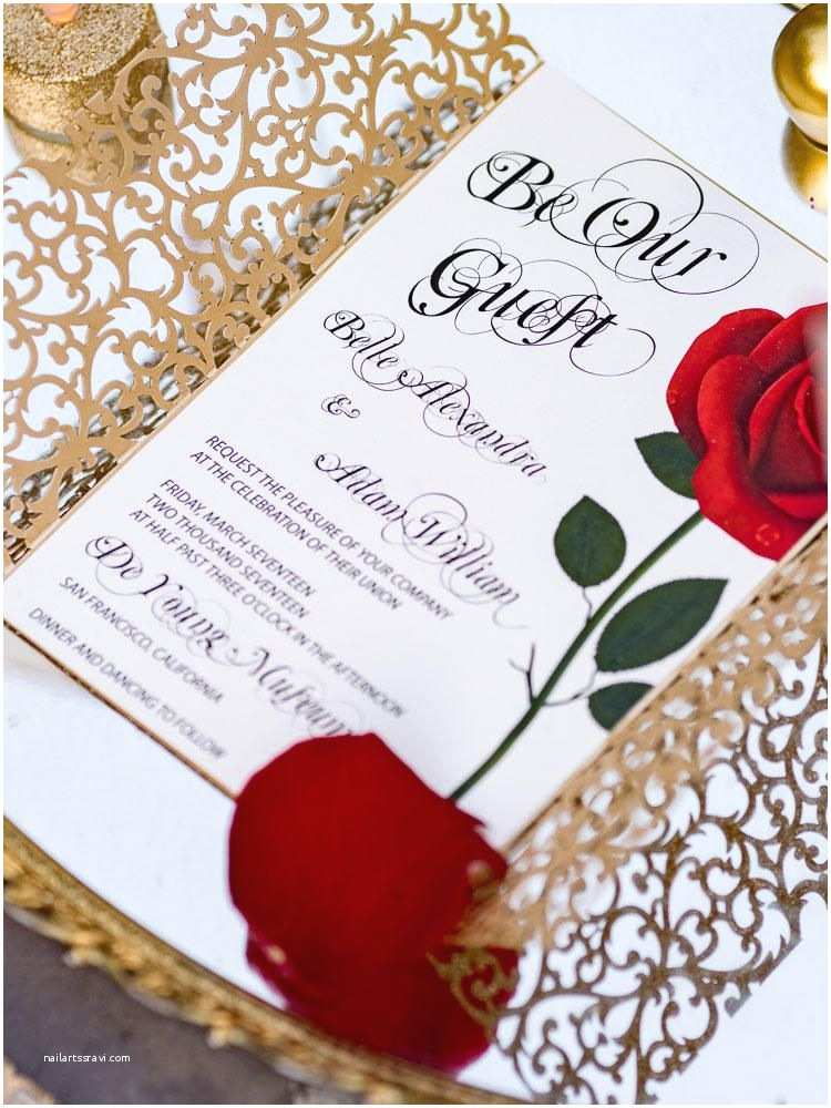 Beauty and the Beast Wedding Invitations Could these 'beauty and the Beast' Wedding S Be Any