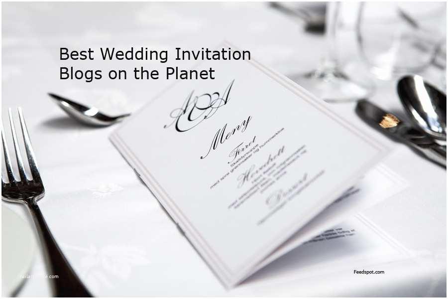 Best Wedding Invitation Sites top 50 Wedding Invitation Blogs and Websites
