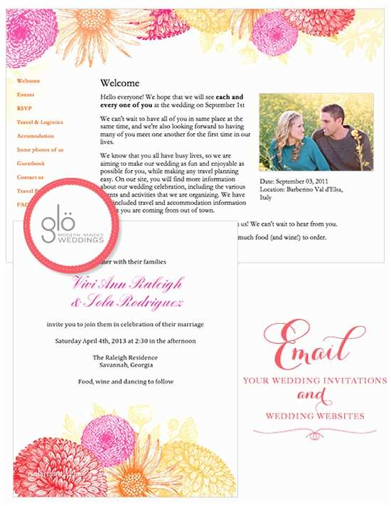 Best Wedding Invitation Sites Wedding Chicks Email Wedding Invitations and Wedding