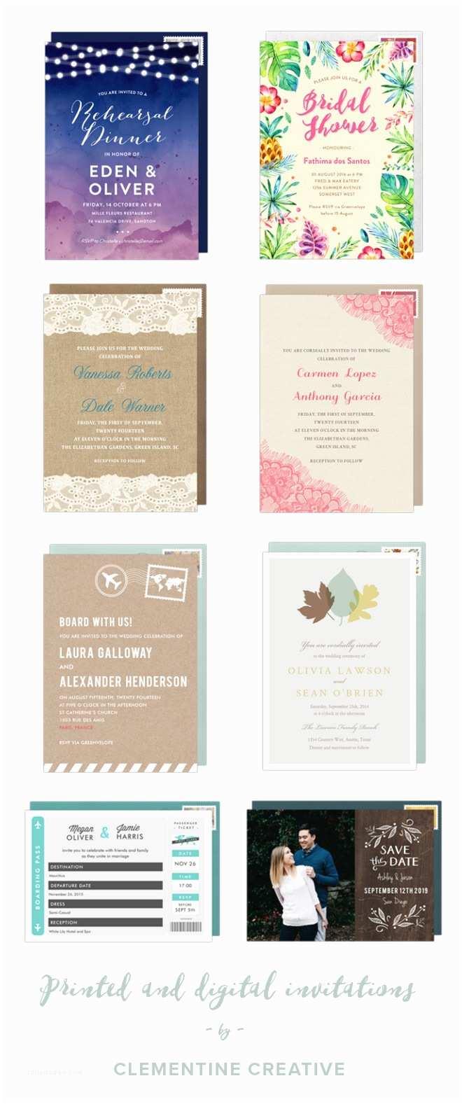 Best Wedding Invitation Websites Templates Wedding Invitation Website Creation to Her