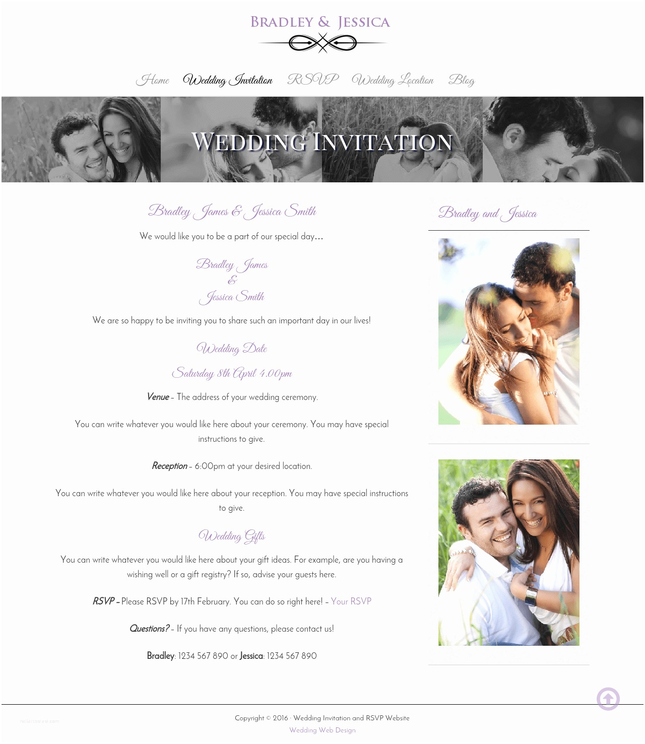 Best Wedding Invitation Websites Wedding Invitation and Wedding Gallery Websites
