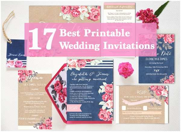 Best Wedding Invitations Ever 17 the Best Printable Wedding Invitations Ever