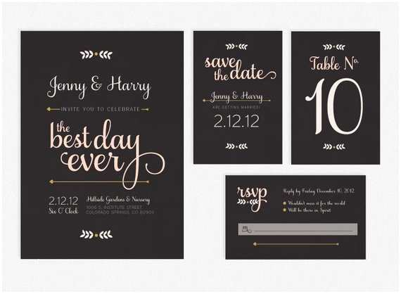 Best Wedding Invitations Ever Etsy Your Place to and Sell All Things Handmade